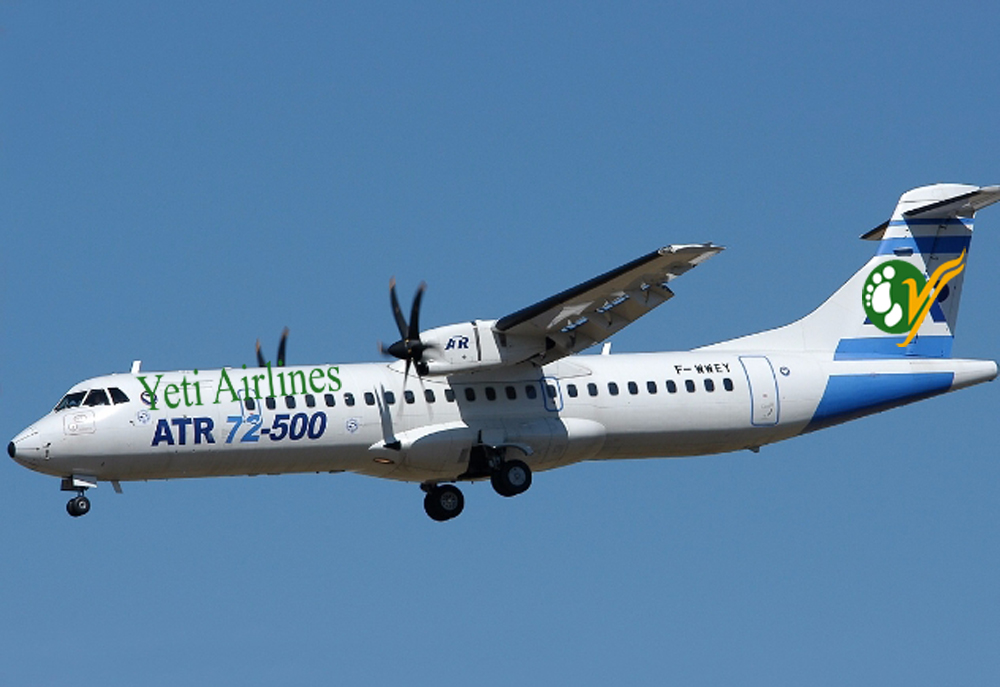 Yeti Airlines to get delivery of its first ATR 72-500 aircraft soon