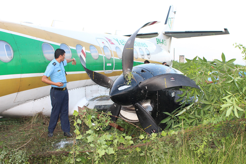 Operational, human errors blamed for Yeti airline aircraft crash