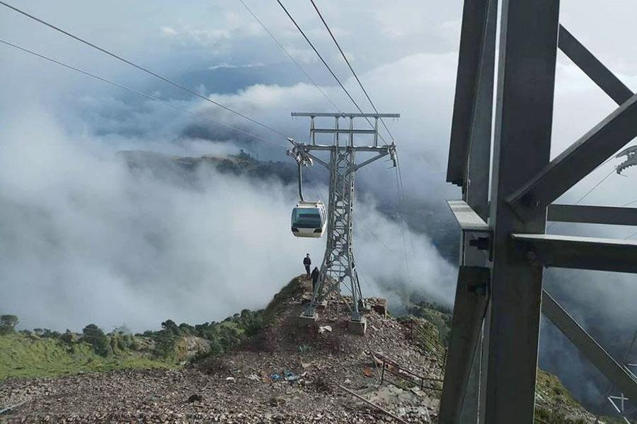 Successful test of Dolakha- Kalinchowk cable car service - Tourism Mail