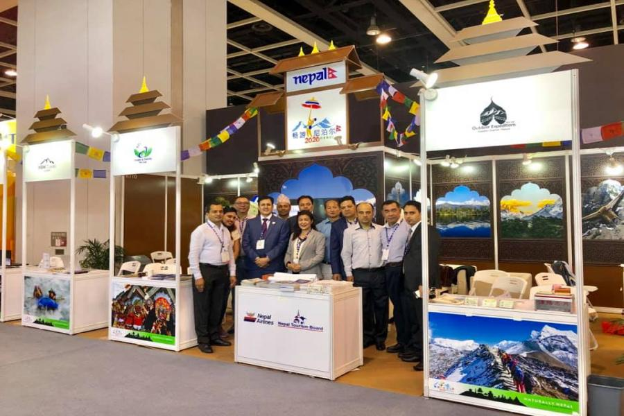 Nepal Participates in 33rd International travel Expo and