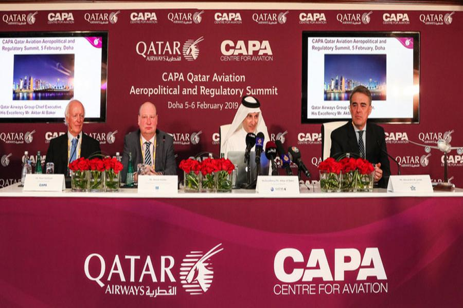 Qatar Airways GCEO Delivers Inspiring Keynote Address on Day